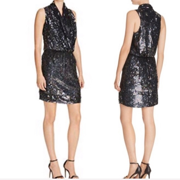 Parker Dresses & Skirts - Parker Lysette beaded sequined cocktail dress NWT